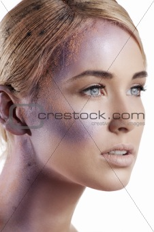 powder creative fashion make up