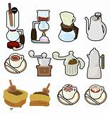 cartoon coffee icon