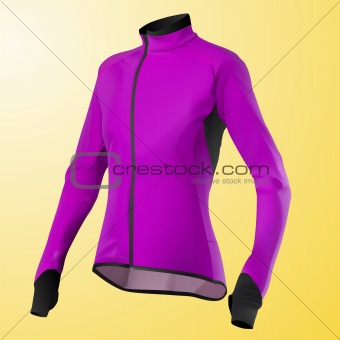 vector pink women's jacket