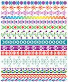 vector colorful decorative borders