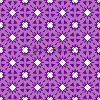 Repeating floral ornament