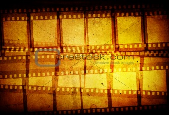 Grunge Film Frame effect