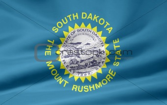 Flag of South Dakota - USA
