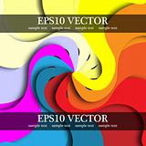 Abstract colorful background for design.
