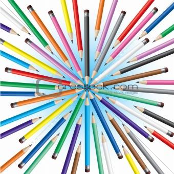 Chaotic pencils