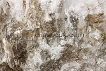 Fragment of wild stone