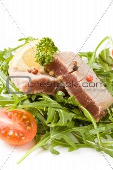 Sliced Tuna Steak