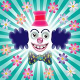The smiling clown