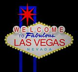 Las Vegas night sign