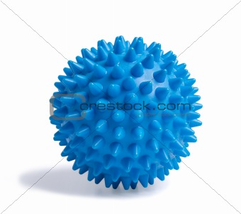 blue massage ball