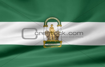 Flag of Andalusia - Spain