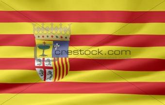 Flag of Aragon - Spain