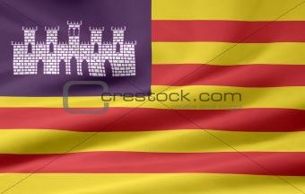 Flag of Balearic Islands - Spain