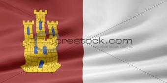 Flag of Castile-La Mancha - Spain
