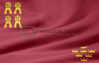 Flag of Murcia - Spain