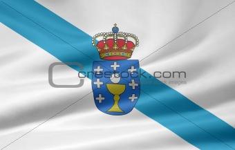 Flag of Galicia - Spain