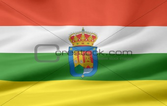 Flag of La Rioja - Spain