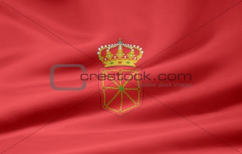Flag of Navarra - Spain