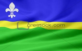 Flag of Flevoland - Netherlands