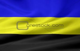 Flag of Gelderland - Netherlands