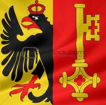 Flag of the swiss canton of Geneva