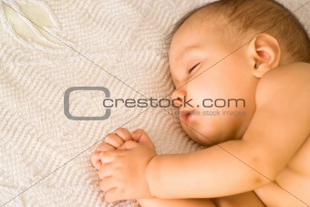 beautiful baby sleep