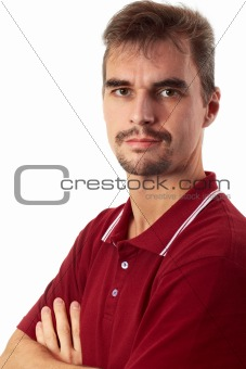 Casual Guy - Arms Crossed