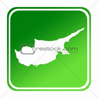 Cyprus green map button