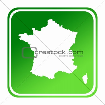 France green map button