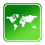 World green map button