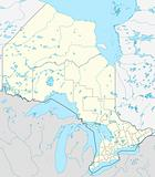 Ontario province map