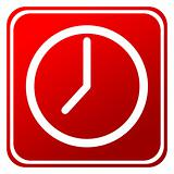 Red time clock button
