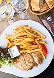 Fresh chicken steak