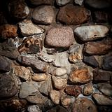 Background of old stone wall texture