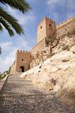 entrance to Almeria castle