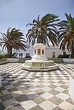 square at Tarifa village