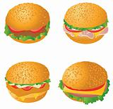 Hamburgers 