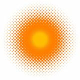 halftone effect, vector