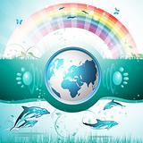 Eco Blue Earth