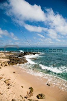 Beach in Mosselbay