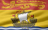 Flag of the of New Brunswick, Canada