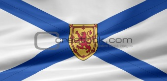 Flag of the Nova Scotia, Canada