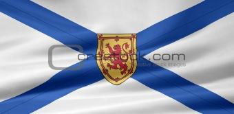 Flag of the Nova Scotia, Canada