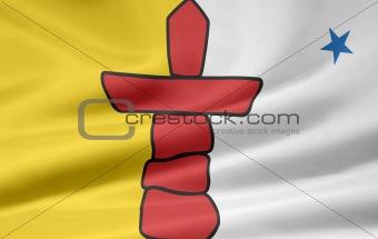 Flag of the Nunavut, Canada