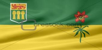 Flag of the of Saskatchewan, Canada