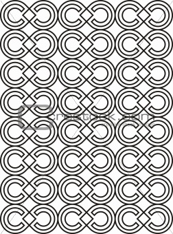 Abstract repeating pattern