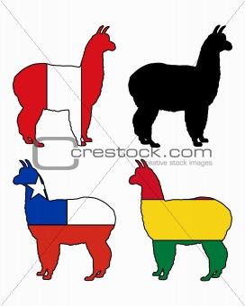 Alpaca flags