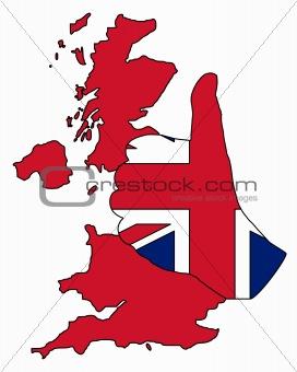 British hand signal