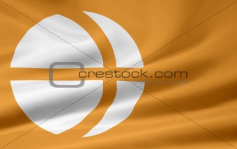Flag of the japanese province of Nagano