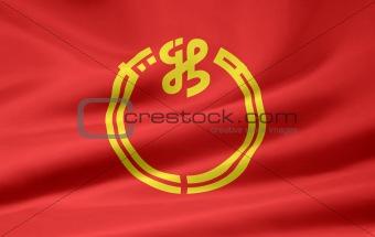 Flag of the japanese province of Niigata
